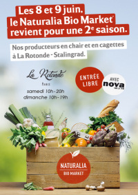 NATURALIA BIO MARKET - Paris -8-9 juin 2019