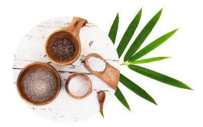 Du sel de bambou, pour lier cuisine et santé avec AMANPRANA
