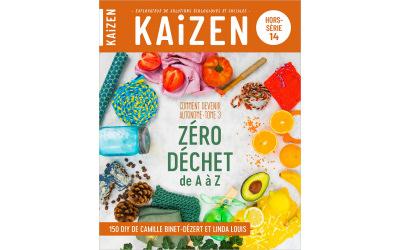 Kaizen publie son hors-série n°14 Zéro déchet de A à Z