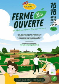 Ferme bio ouverte - Maulévrier - 15-16 juin 2019