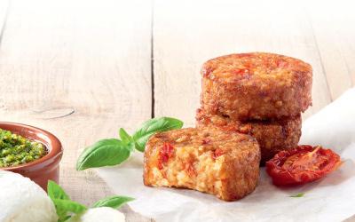 Nouveauté SOY : Les palets mozzarella & tomates séchées