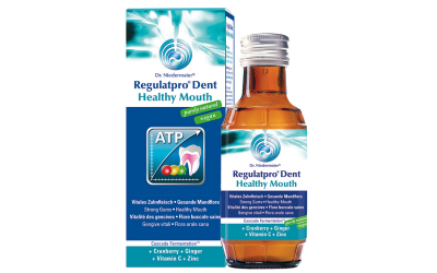 Le bain de bouche Regulatpro Dent, parce que sourire est primordial :)