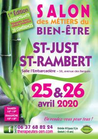 Salon des métiers du Bien-Être les 25 et 26 avril 2020 à St-Just-St-Rambert (42)