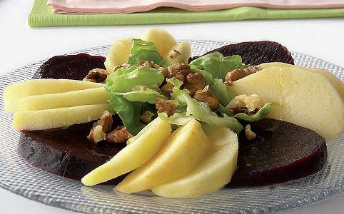 Salade de betteraves aux pommes Gala Côteaux Nantais