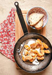 Gnocchis de potiron et gingembre à la crème vanillée