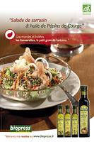 Salade de sarrasin & huile de pépin de courge
