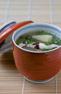 Soupe miso aux shiitakés