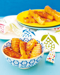Ananas grillé