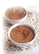 Mousse vanillée choco-gourmande