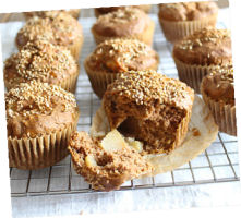 Muffins-pomme
