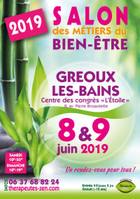 Salon des métiers du bien-être - Gréoux-les-Bains - 8-9 mars 2019