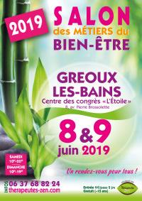 Salon des métiers du bien-être - Gréoux-les-Bains - 8-9 mars 2019