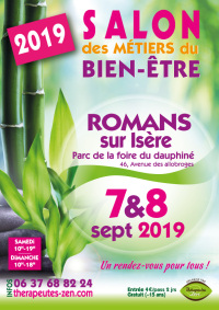 Salon des métiers du bien-être - Romans-sur-Isère - 7-8 septembre 2019