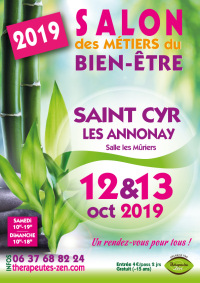 Salon des métiers du bien-être - Saint-Cyr-les-Annonay - 12-13 octobre 2019