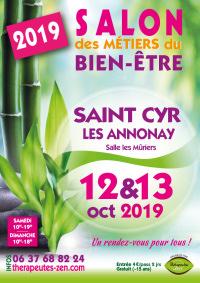 Salon des métiers du bien-être - Saint-Cyr-les-Annonay - 12-13 octobre 2019