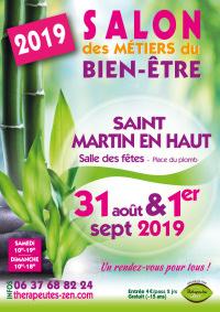 Salon des métiers du bien-être - Saint-Martin-en-Haut - 31 août-1 septembre 2019