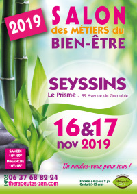 Salon des métiers du bien-être - Seyssins - 16-17 novembre 2019
