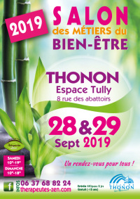 Salon des métiers du bien-être - Thonon - 28-29 septembre 2019