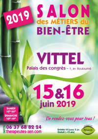 Salon des métiers du bien-être - Vittel - 15-16 juin 2019