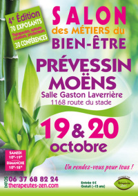 Salon des métiers du bien-être - Prévessin Moëns - 19-20 octobre 2019
