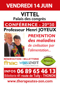 Conférence Pr Joyeux - Vittel - 14 juin 2019