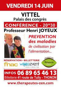 Conférence Pr Joyeux - Vittel - 14 juin 2019