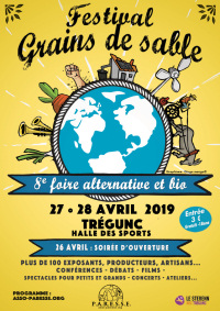 Festival Grains de sables - Trégunc - 27-28 avril 2019