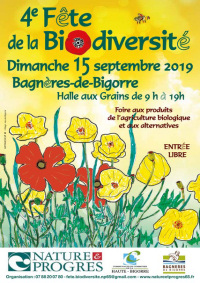 Fête de la Biodiversité - Bagnères de Bigorre - 15 septembre 2019