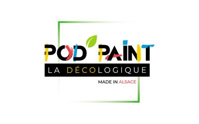 Pod'Paint-La Décologique : la peinture écologique 100% made in Alsace