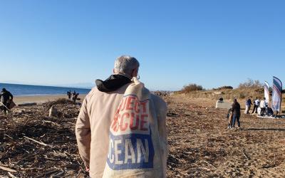 Project Rescue Ocean organise une opération de nettoyage d'envergure après le passage de la tempête Gloria