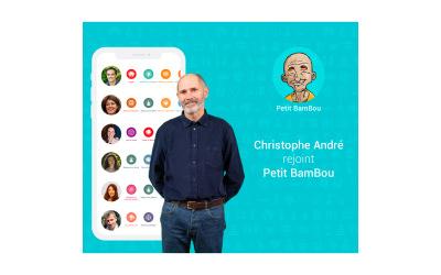 Christophe André rejoint Petit BamBou l'app européenne N°1 de méditation