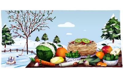 Yuka : Découvrez les fruits et légumes de février