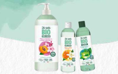 JE SUIS BIO : La nouvelle marque de gels et crèmes de douche