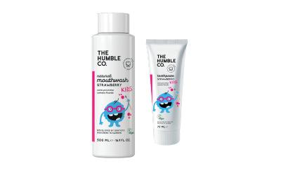 Le premier bain de bouche pour les enfants de The Humble Co.