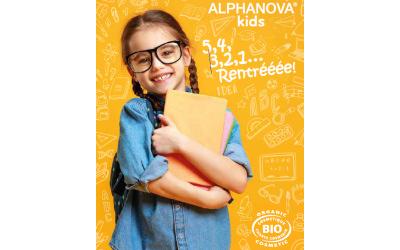 ALPHANOVA® kids : La gamme de cosmétiques bio dédiée aux enfants