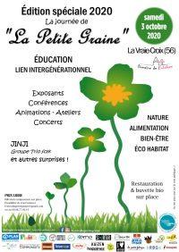"""La Journée de """"La petite graine"""" le samedi 3 octobre 2020 à La Vraie-Croix (56)"""