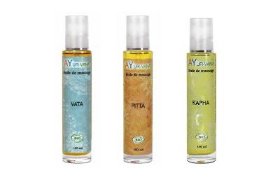SPÉCIAL AYURVÉDA – Des huiles de massage pour un bien-être absolu !