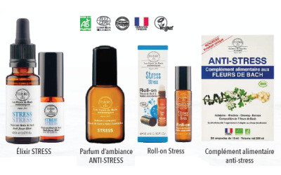 Gamme anti-stress ELIXIRS & CO