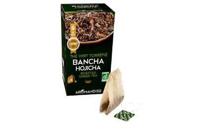 Aromandise : Bancha Hojicha en infusettes