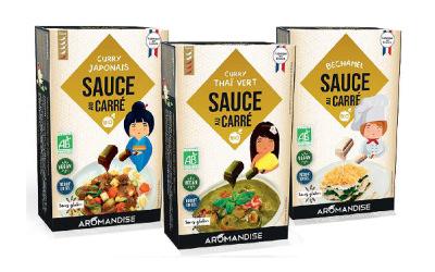 Aromandise : Sauce au carré®