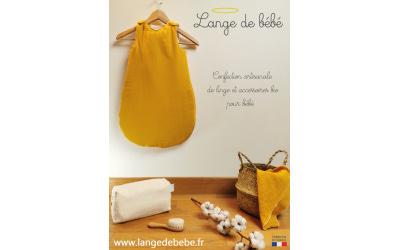 Lange de bébé : Confection artisanale de linge et accessoire bio