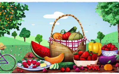 Yuka : Les fruits et légumes de juillet