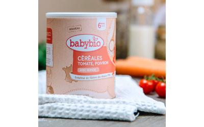 Babybio dévoile ses nouvelles gammes de céréales infantiles
