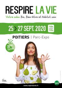 Salon Respire la vie du 25 au 27 septembre à Poitiers (86)