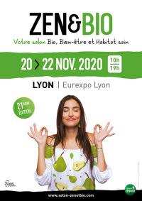 Salon Zen&Bio du 20 au 22 novembre 2020 à Lyon (69)