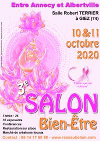 Salon Bien-être les 10 et 11 octobre 2020 à Giez (74)