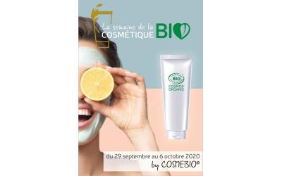 Cosmébio met en place la Semaine de la Cosmétique Bio