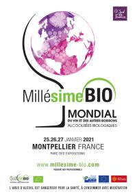 Millésime Bio 2021 du 25 au 27 janvier 2021 à Montpellier (34)
