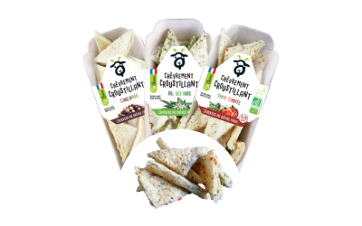 """Des crackers """"chèvrement croustillants"""" So Chèvre Apéro !"""