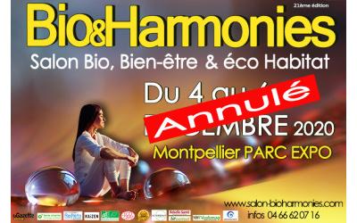 Salon Bio & Harmonies 2020 annulé